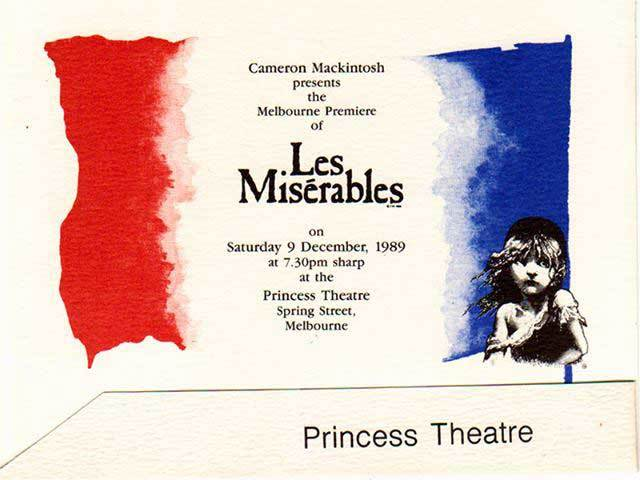 Les-Miserables-Melbourne-Premiere-opening-Night-Ticket