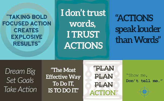 Quotes about action